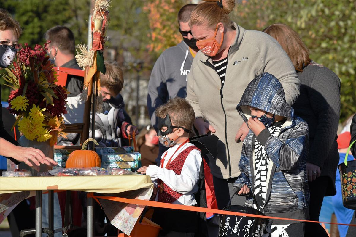 Churches get COVID creative for Halloween