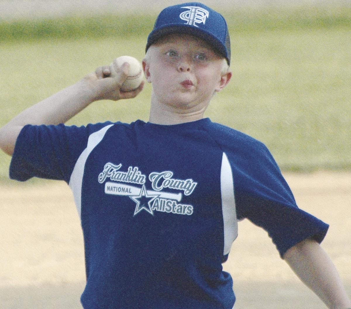 FRANKLIN COUNTY ALL-STARS IN ACTION