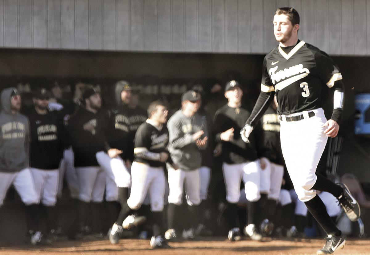 Panthers split season-opening series with nationally ranked foe