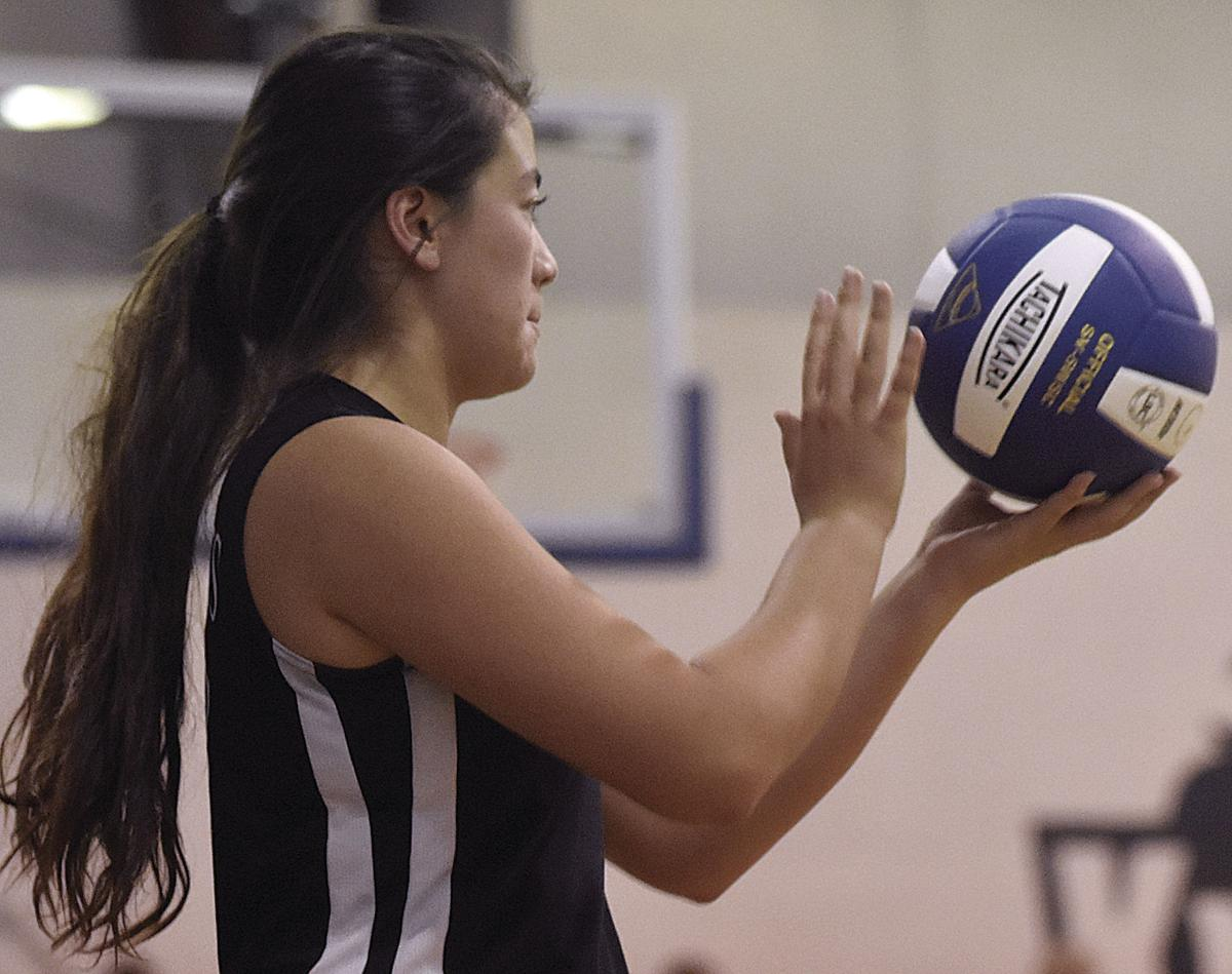 Knights rally from first-set loss to defeat Faith Christian Academy