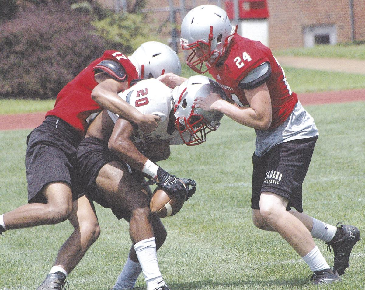 FRANKLIN COUNTY FOOTBALL PRACTICE