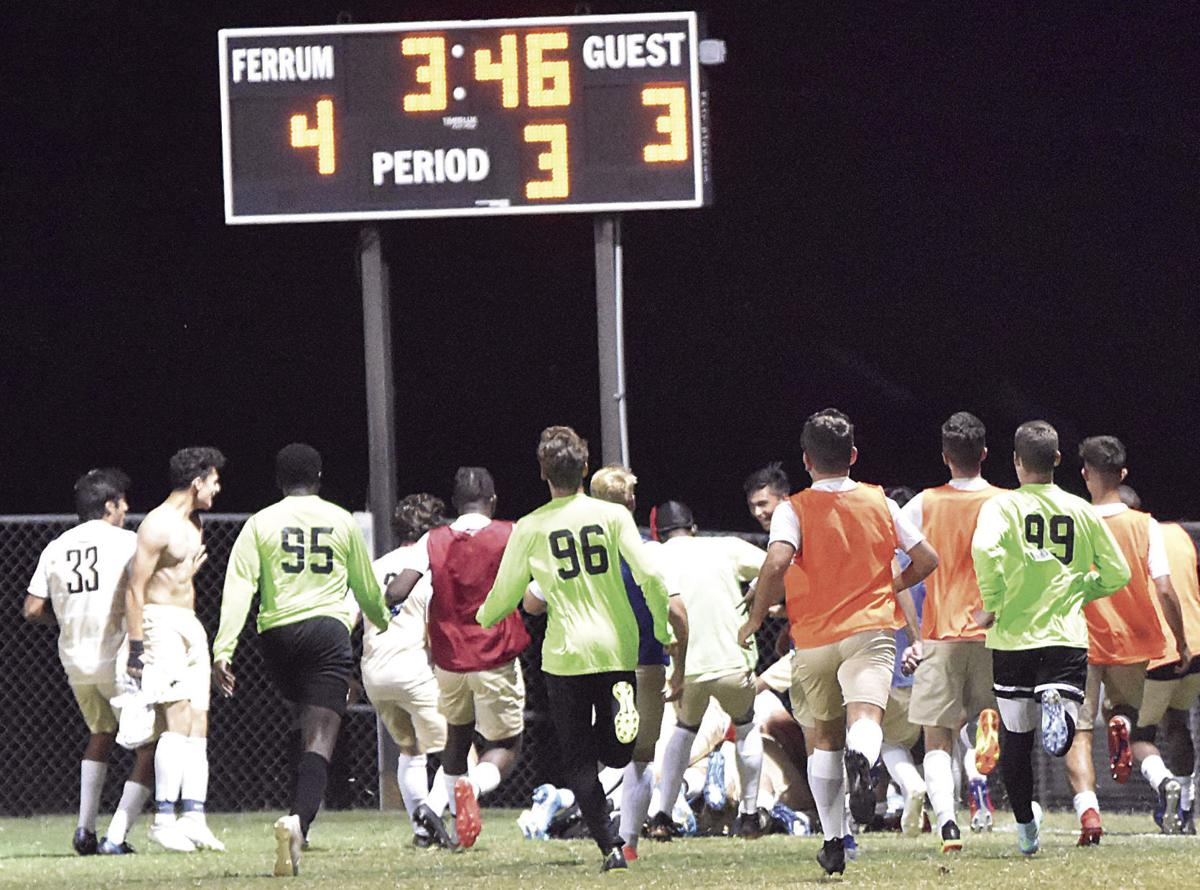 Panthers split weekend matches