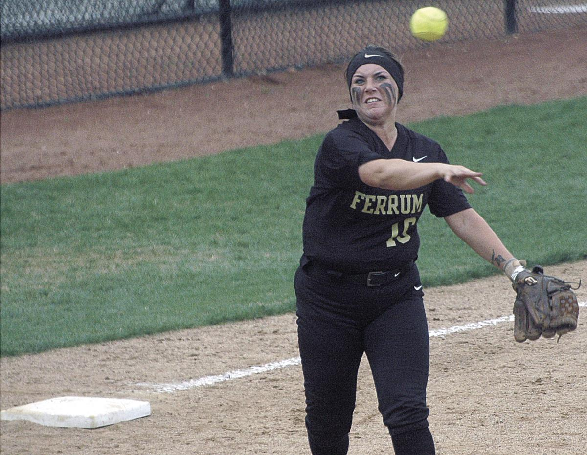 COLLEGE SOFTBALL: McGehee powers Ferrum to twinbill split
