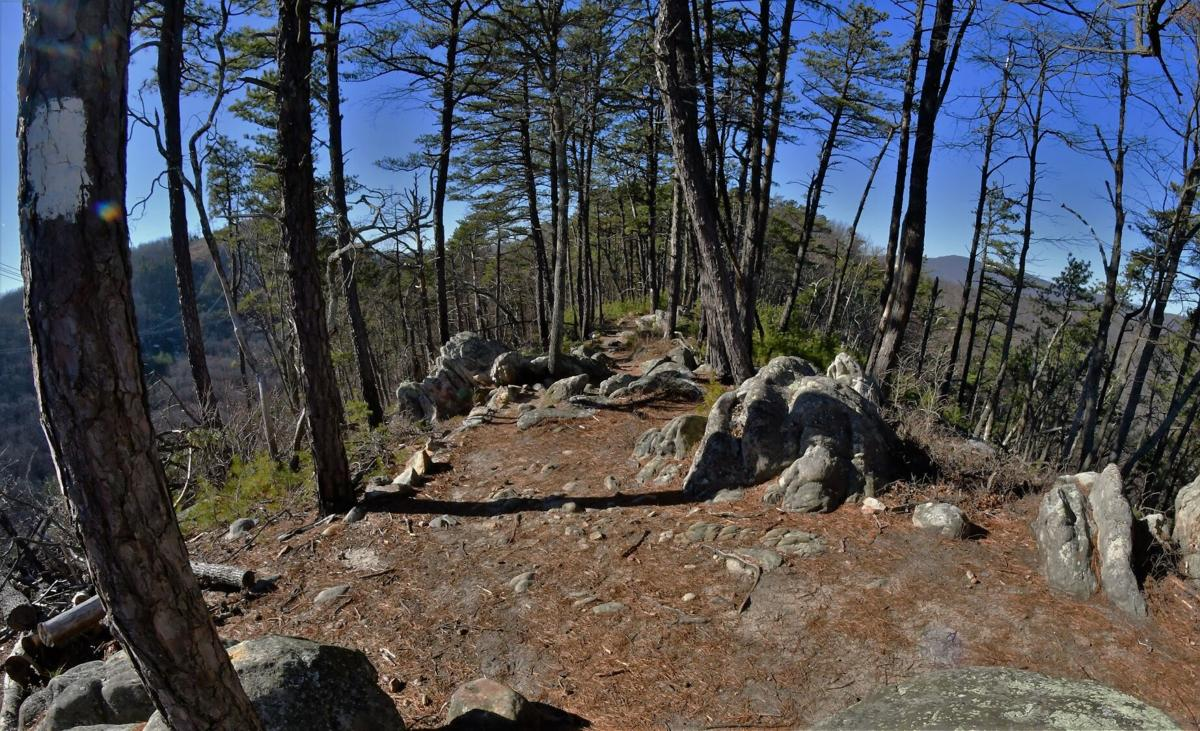 Hay Rock's views and challenging trail don't disappoint