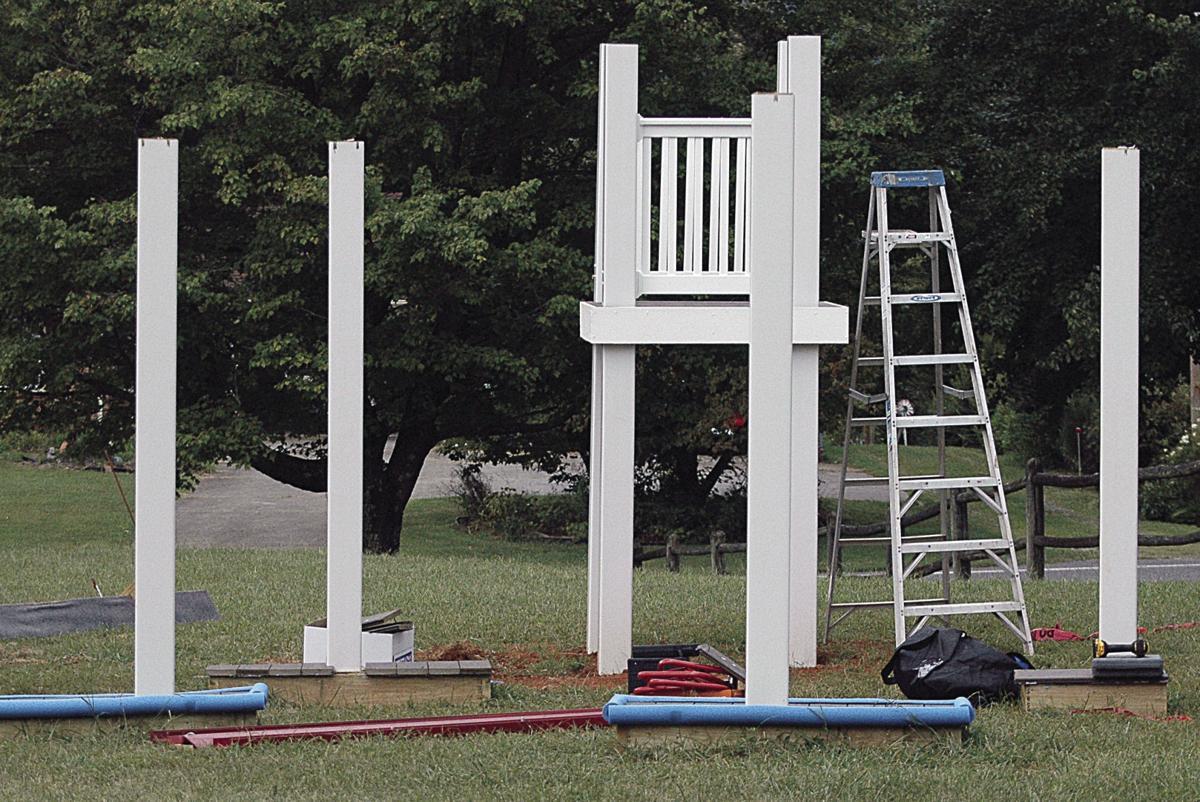 Playground after