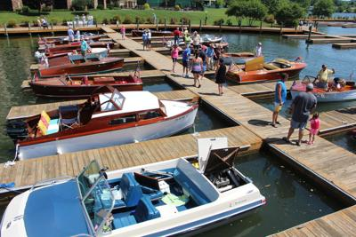 Antique boat club holds spring boat show
