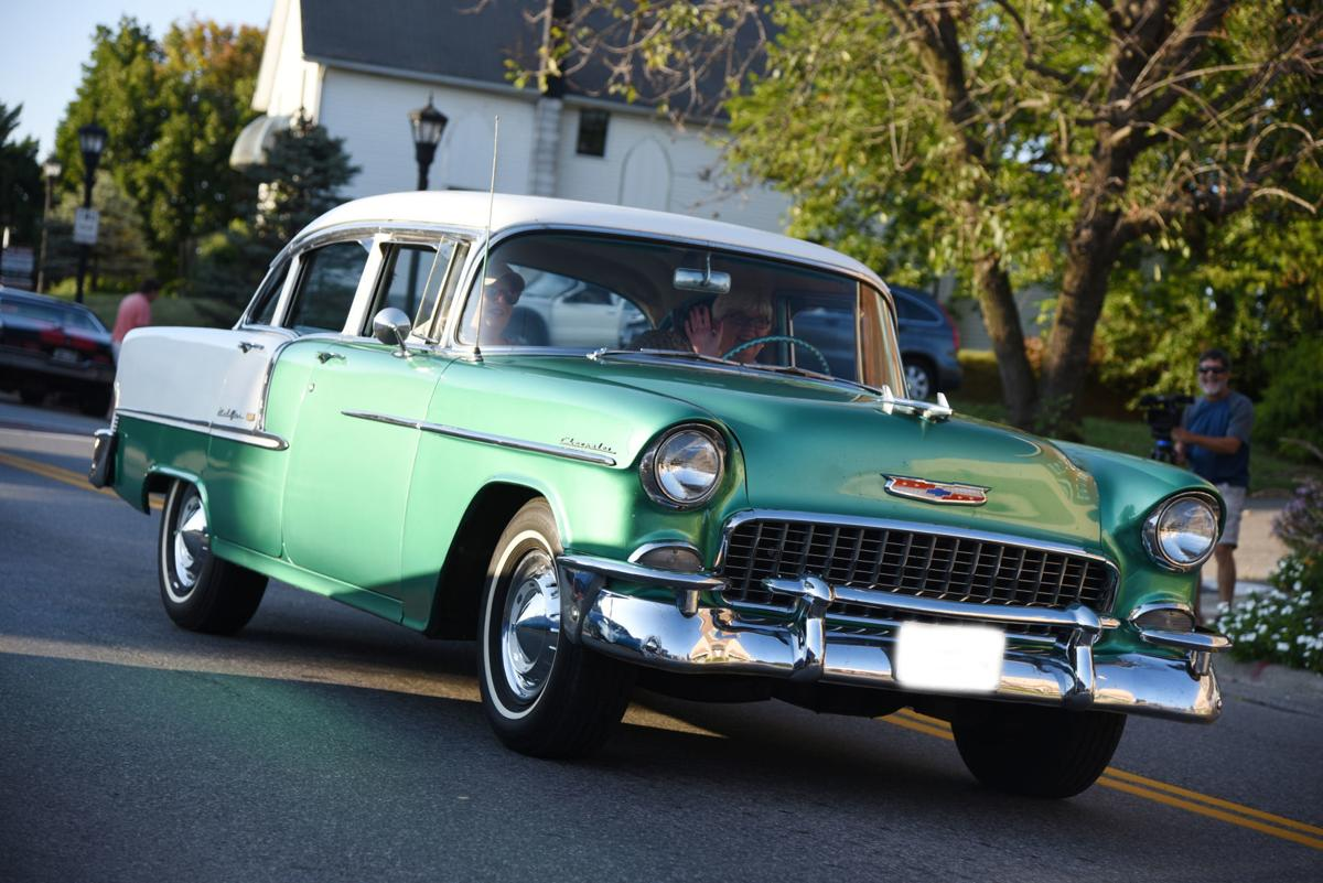 Green Chevy Bel-Air