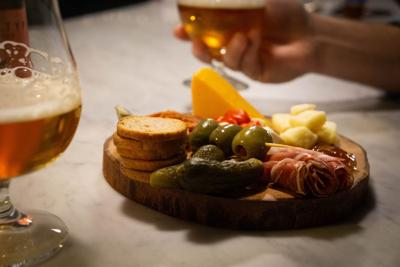 Archetype Broadway Charcuterie Boards and 2-year Saision release