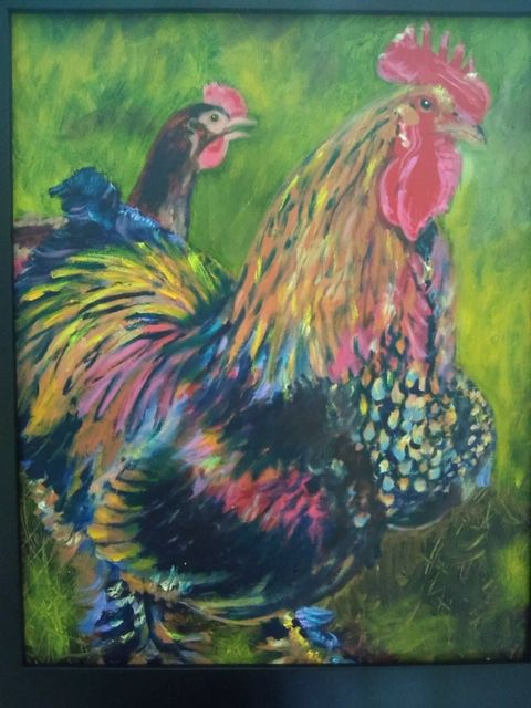 """""""Coco"""" the rooster"""