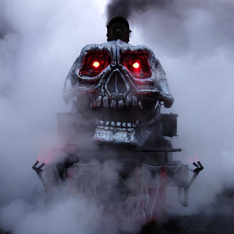Image result for skull train