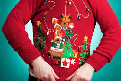 Sauced Hosts Ugly Christmas Sweater Party Food And Drink
