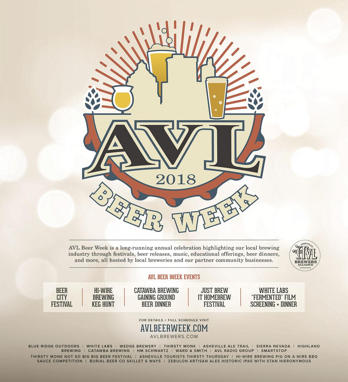 7th Annual AVL Beer Week is May 25 - June 2 | The Guide To ...