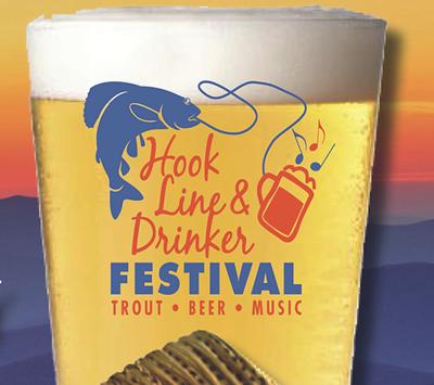 hook line and drinker
