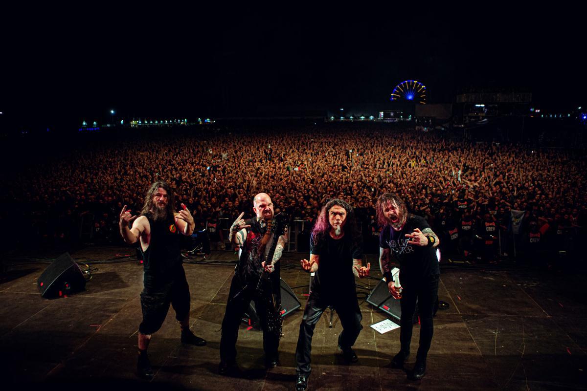 Slayer @ Graspop, Belgium, June 22, 2019