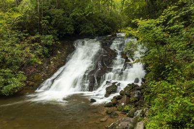 Indian Creek Falls Waterfall