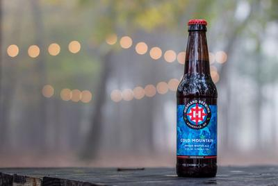 Highland's Cold Mountain Winter Ale in the Meadow