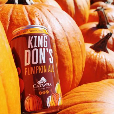 Catawba Brewing King Don's Pumpkin Ale new can 10-20