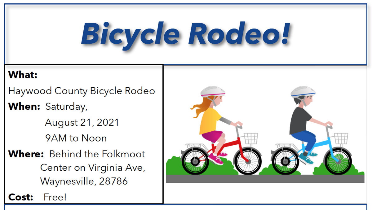 Haywood County Bicycle Rodeo