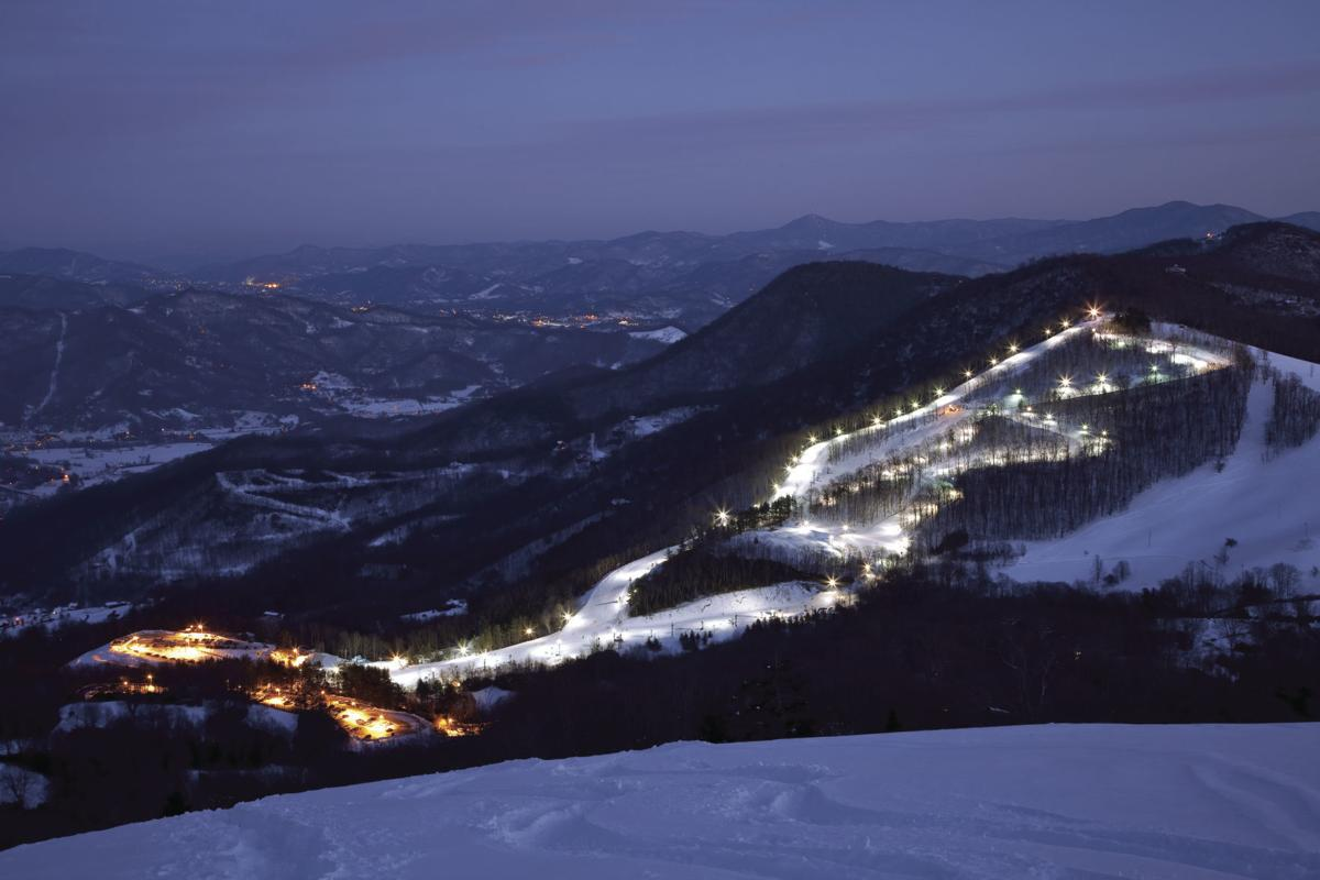 Cataloochee At night