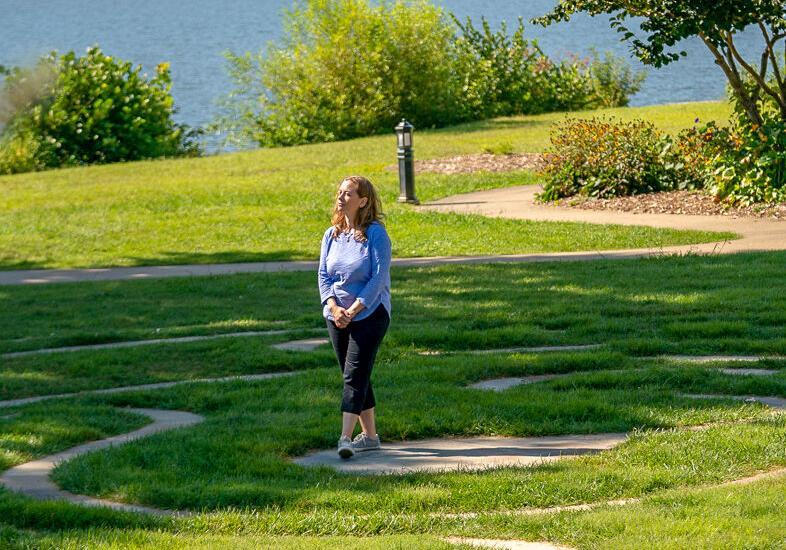 Lake Junaluska - Labyrinth walking