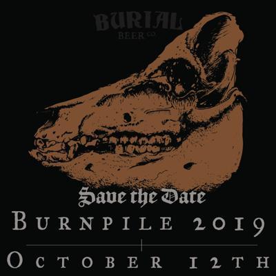 Burial Beer Co.'s Burnpile Harvest Fest