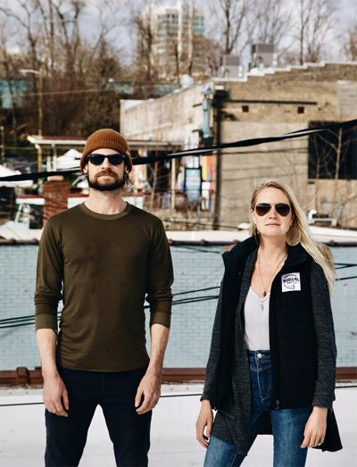 Tim Gormley and Jess Reiser, part of Burial Beer's ownership