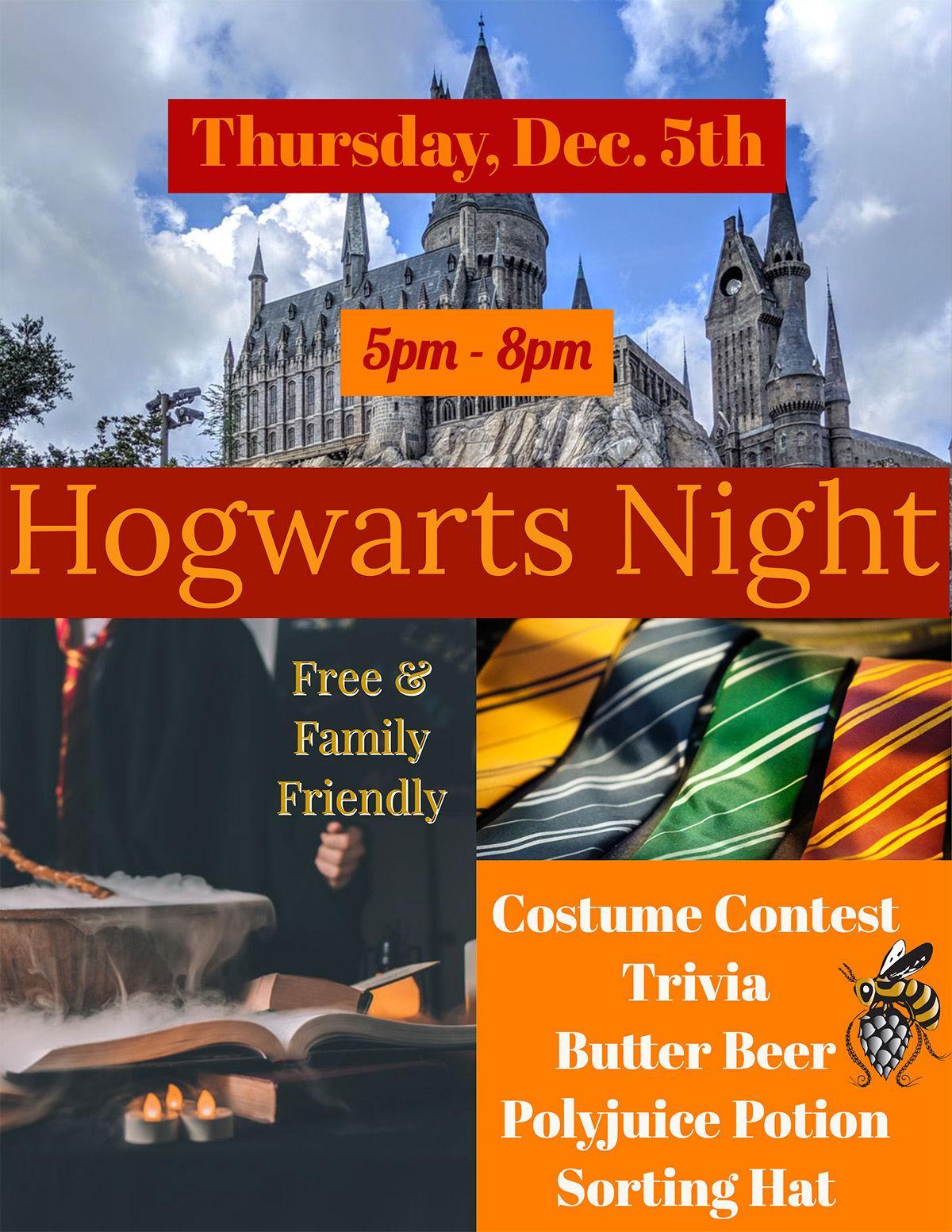 Bhramari Hogwarts Night Dec. 5
