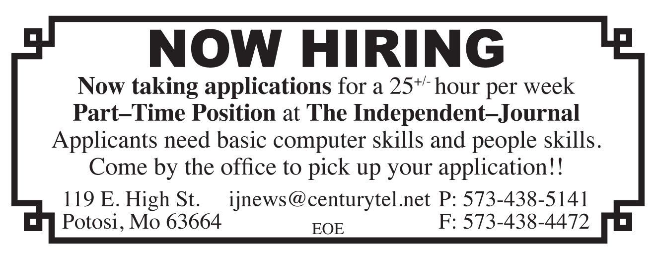 Now Hiring at The Independent-Journal