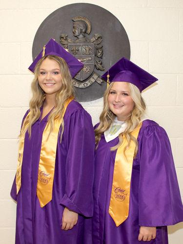 PHS Valedictorian and Salutatorian