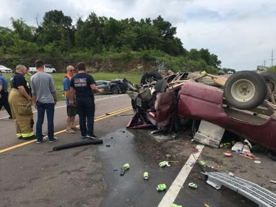 Wreck on Hwy. 21 July 3rd