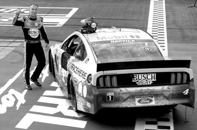 HARVICK AND NASCAR ARE BACK
