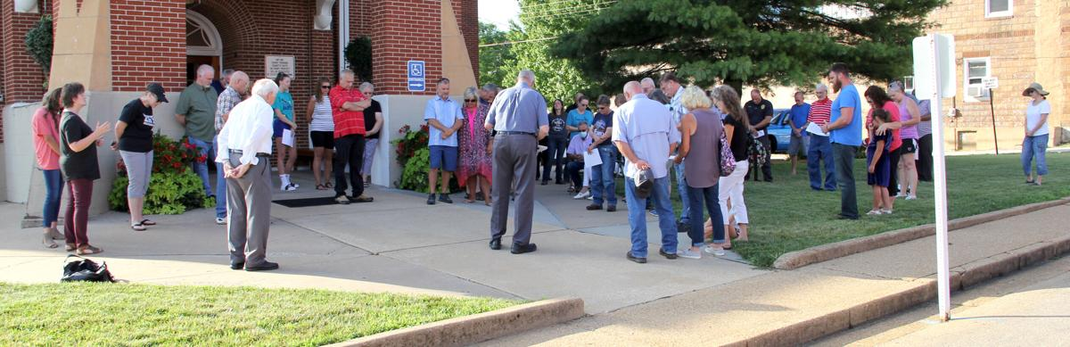 Prayers & Protests Marked End of the Week At Washington County Courthouse Downtown