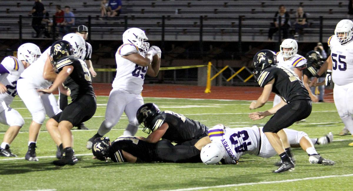 Football Trojans Hang Tough with Knights A Game of Turnovers Cost Potosi A Win - 9/10/20