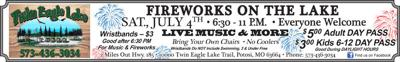 Twin Eagle to have 2nd Annual 4th of July Celebration