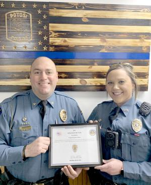 ADAMS OFFICER OF THE YEAR 2019