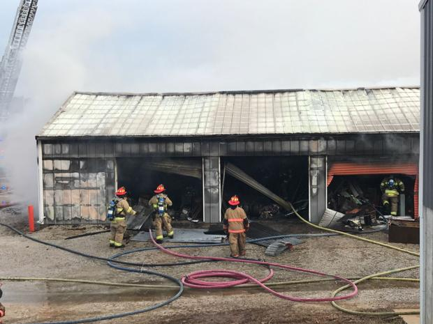 BUILDING DESTROYED BY FIRE THURSDAY, DEC. 12TH, 2019 AT 8 & U STORE IT