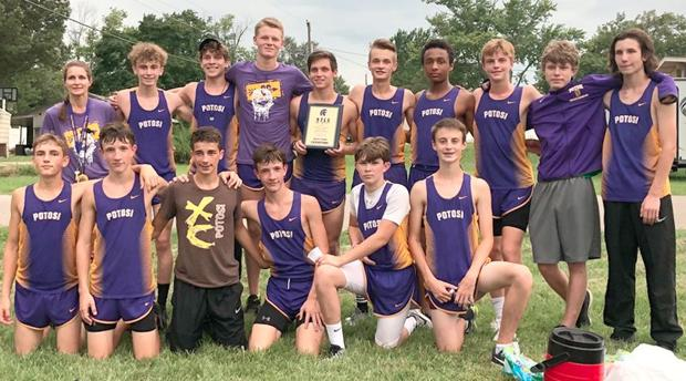 POTOSI HIGH SCHOOL CROSS COUNTRY TEAMS WIN (8/30/19)