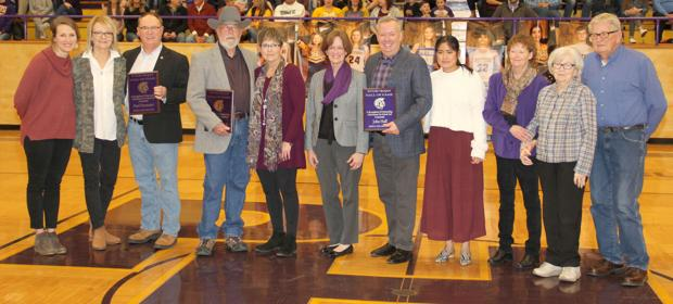 POTOSI R-3 HALL OF FAME INDUCTEES HONORED
