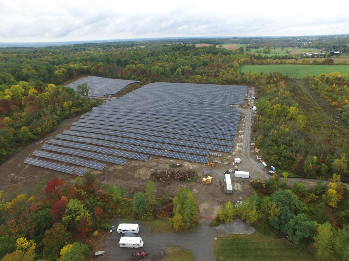 18-acre solar array up and running in Geneseo