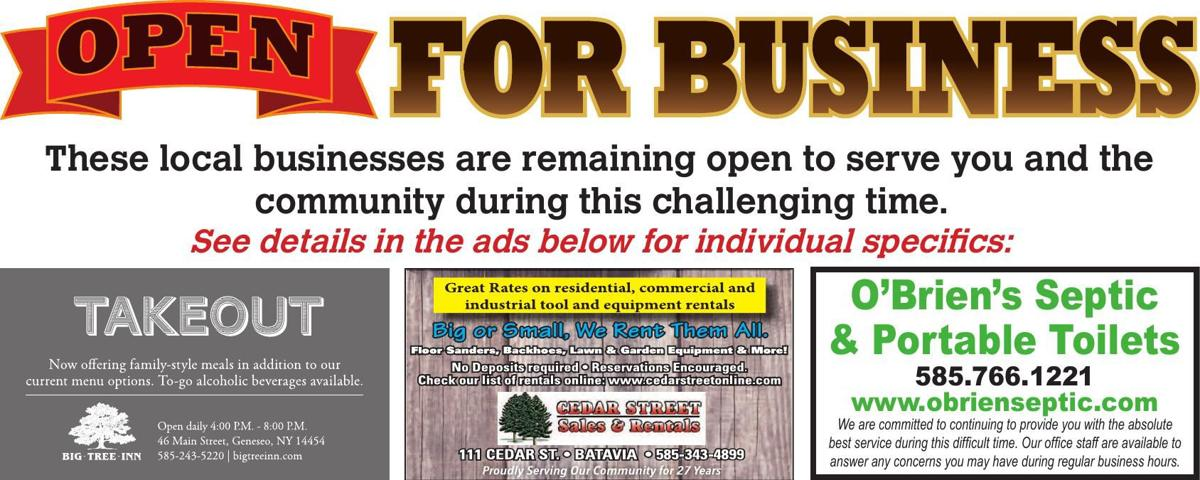COVID-19: Open for Business