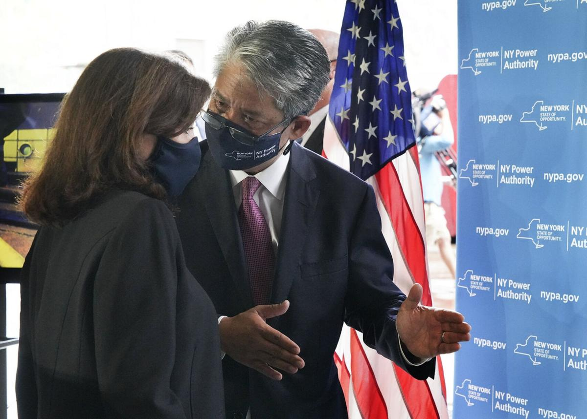 Hochul tours start of $1.6B green electric