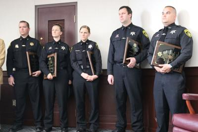 'Dispatcher of the Year' Deputies recognized for efforts night of trucker's rampage