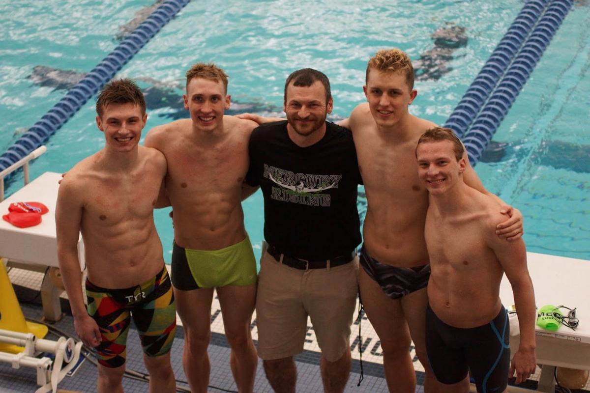 SWIMMING: Mercury swimmers strike 'Gold' in Ithaca.