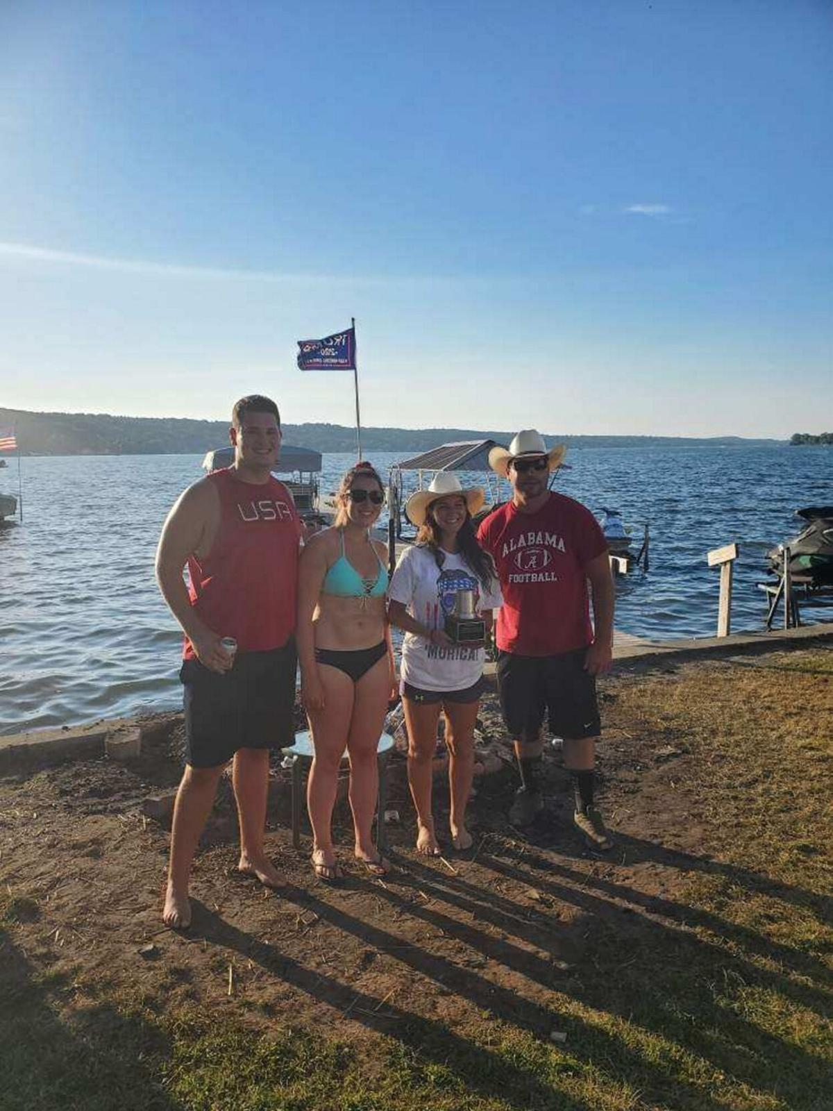 Cerretto, Gionta capture annual Conesus Lake Cornhole tourney