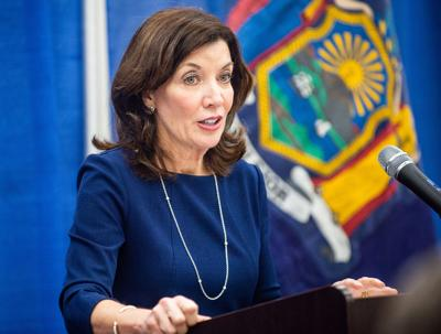 Hochul takes the helm