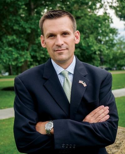 Livingston County District Attorney Greg McCaffrey