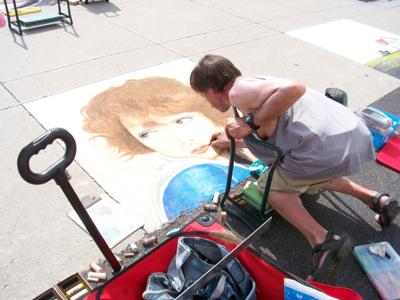 Perry Chalk Art Festival lists winners