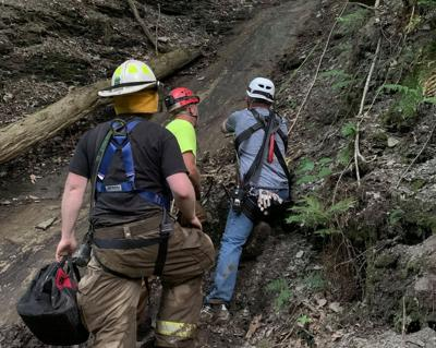 Girl rescued from Perry gorge