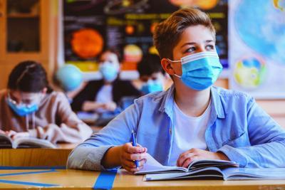 School mask mandate urged