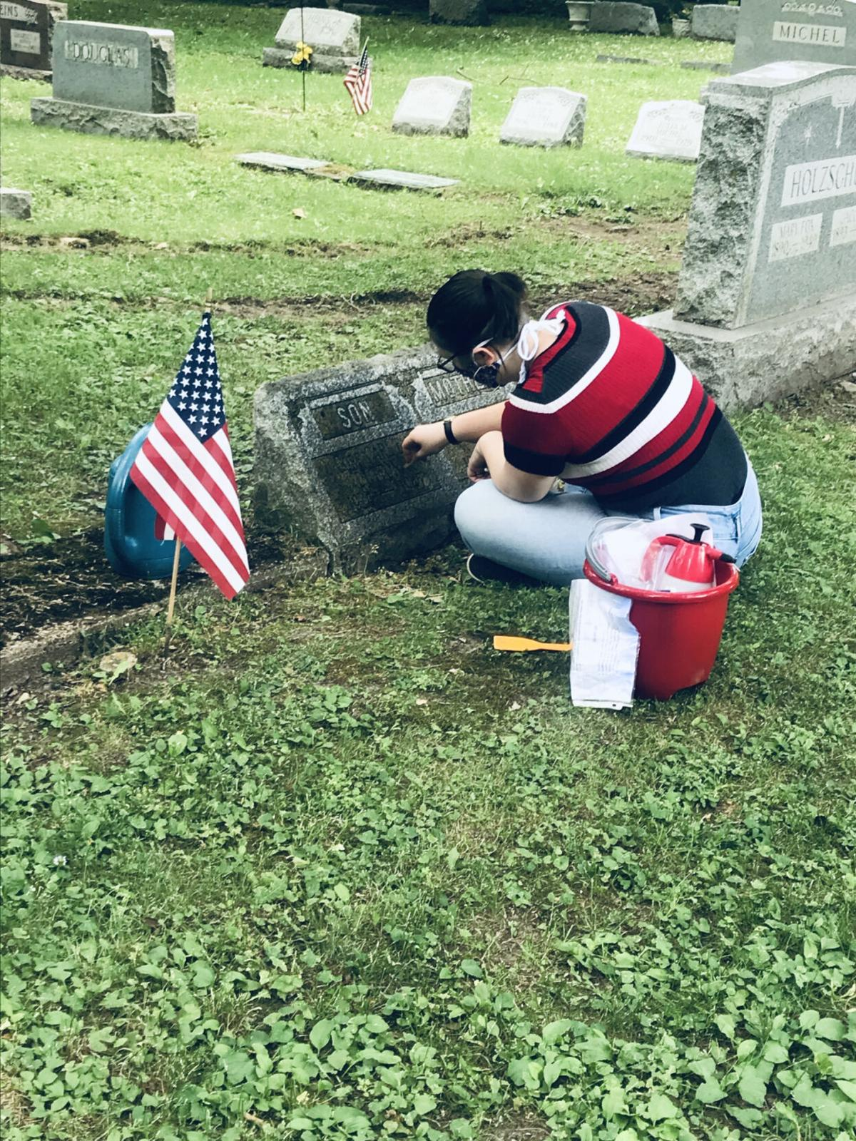 Piecing together history Le Roy Project: Historical Society intern helps reveal stories of WWII veterans